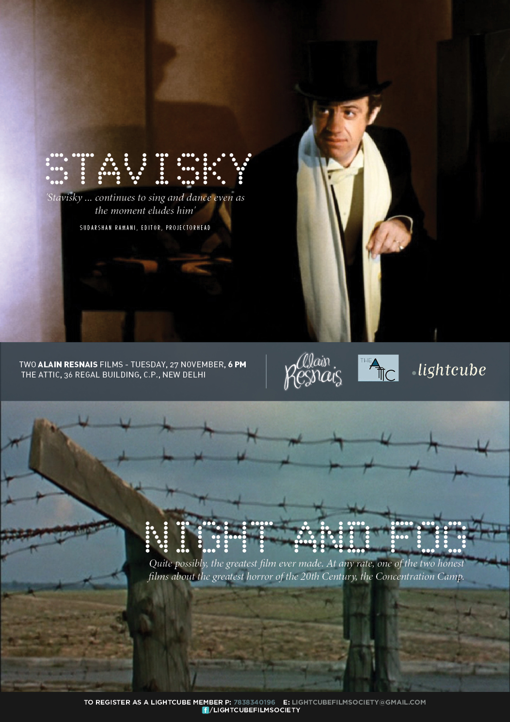 Resnais Shorts-Features 3, November 2012